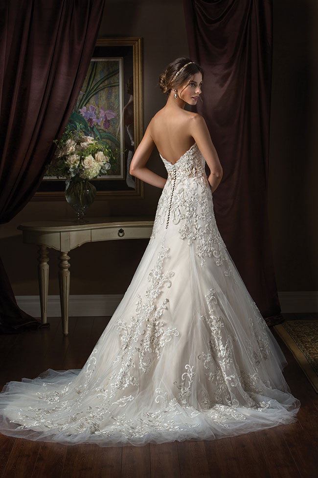 Romantic Wedding Dresses for One-of-a-Kind Brides from Jasmine ...