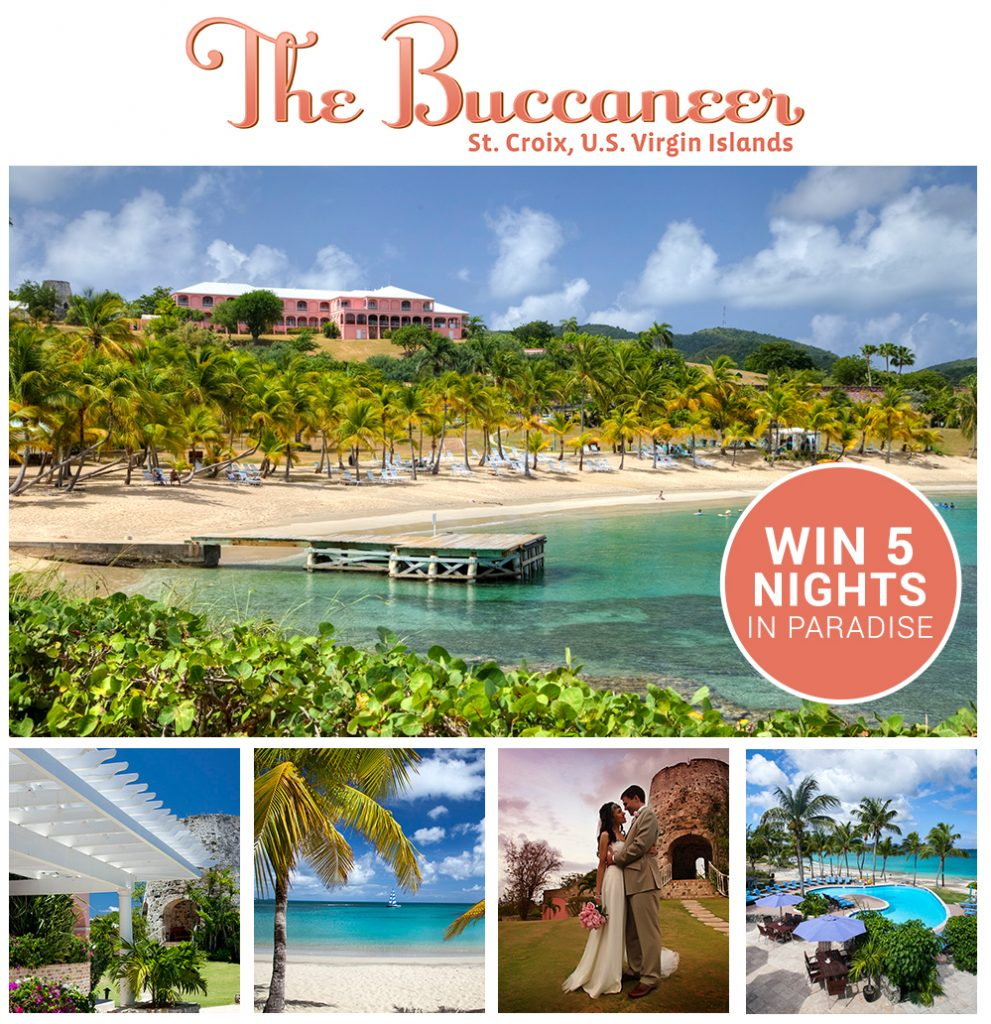 Buccaneer Giveaway Win a honeymoon