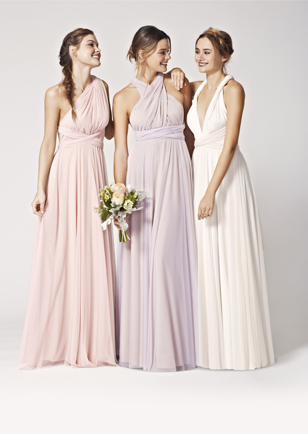 1fa3d53b335 Brand New! Two-birds Tulle Convertible Bridesmaids Dresses  Spring ...