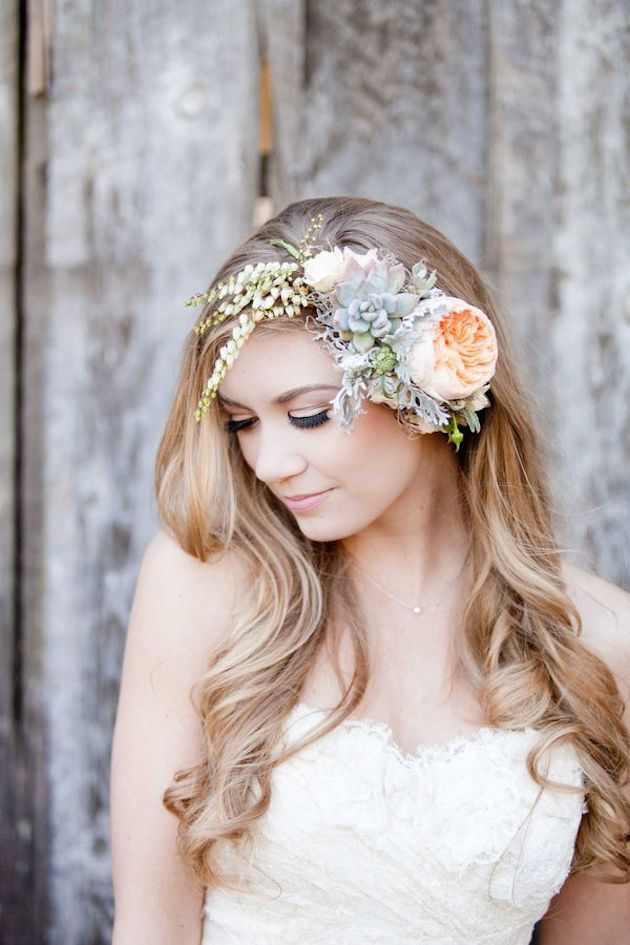 11 Ways to Wear Flowers in Your Hair - BridalPulse e23cc18589a