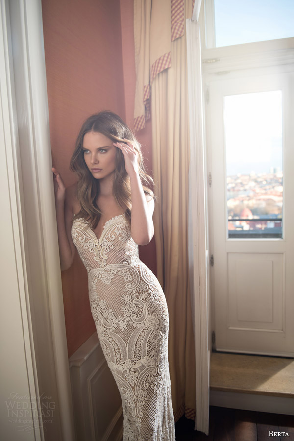 Berta Bridal Fall 2015 Wedding Dresses - BridalPulse