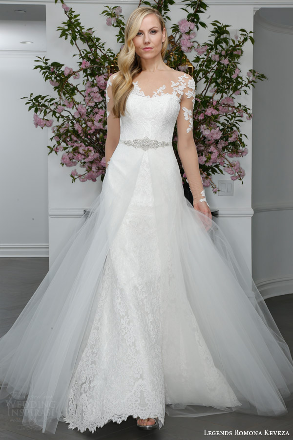 Legends Romona Keveza Spring 2016 Wedding Dresses - BridalPulse