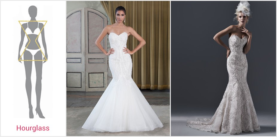 August in review this month s wedding highlights for Wedding dresses by body shape