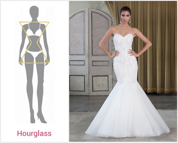 the best wedding dress for your body type bridalpulse