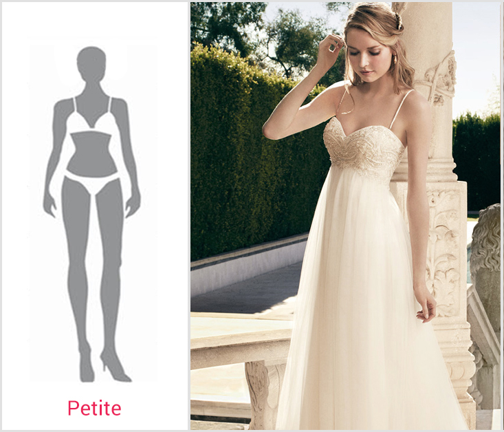 Wedding Gowns For Petite Figures: Beyond Body Shapes: Best Wedding Dresses For Your Figure