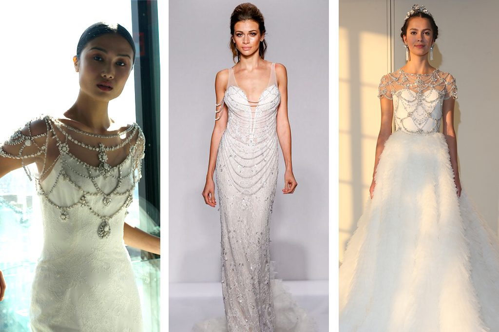 Wedding Gowns With Bling: Top Wedding Dress Trends At New York Bridal Fashion Week