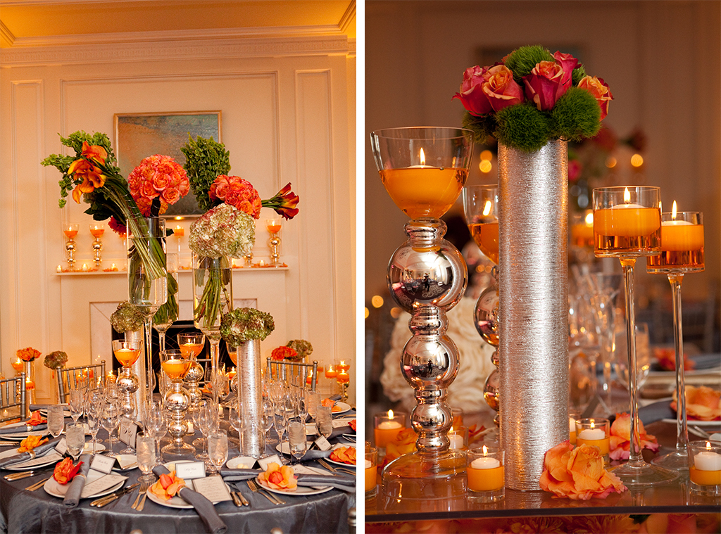 Fall themed wedding decorations image collections