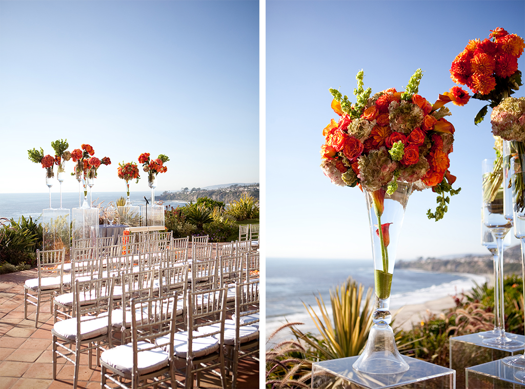 Southern California Fall Inspired Beach Wedding By Christine Bentley Photography