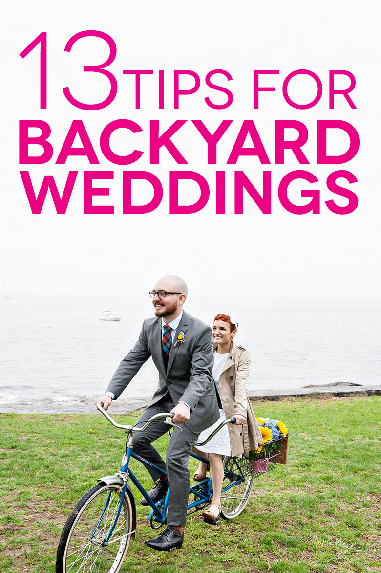 Backyard Wedding Planning Checklist 13 times backyard weddings proved staying at home is fun - bridalpulse