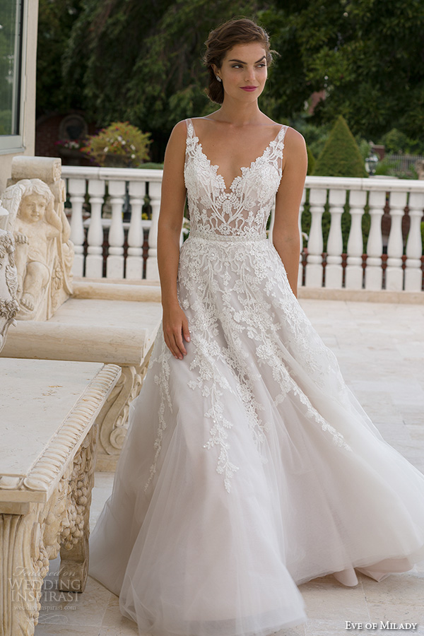 Eve of Milady Spring 2016 Wedding Dresses - BridalPulse