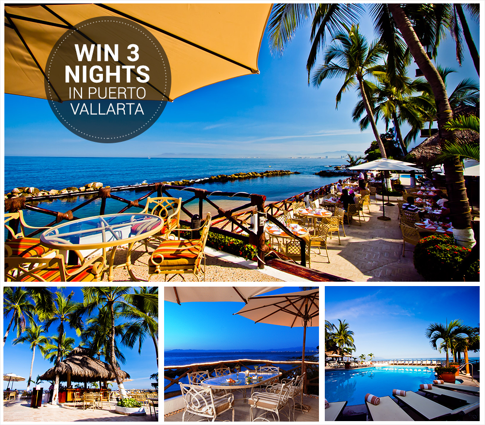 enter to win 3 nights in costa sur puerto vallarta giveaway