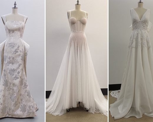 future bridal designers from NYC's fashion institute of technology