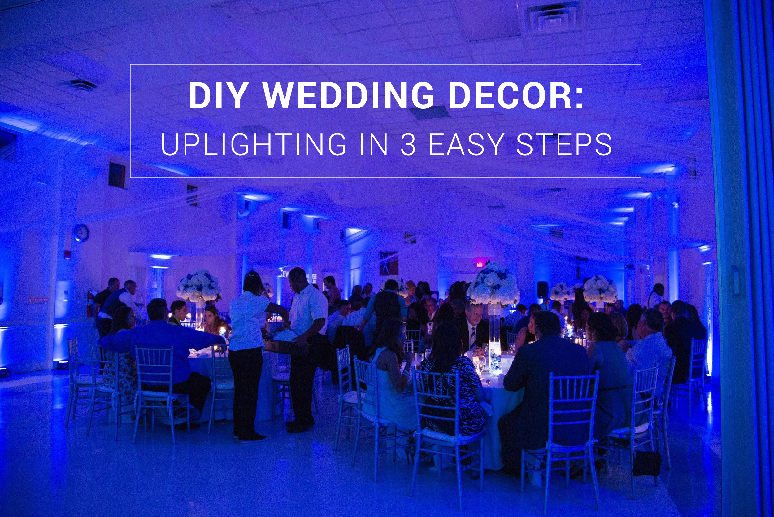 DIY Wedding Décor Uplighting in 3 Easy Steps by Rent My Wedding & DIY Wedding Decor: Uplighting in 3 Easy Steps azcodes.com