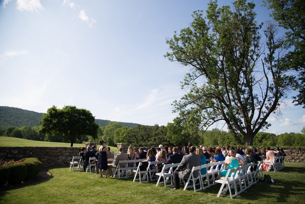 outdoor virginia ski lovers wedding