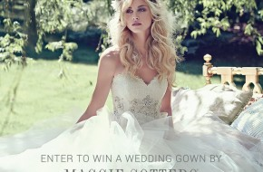 ENTER TO WIN A MAGGIE SOTTERO WEDDING DRESS