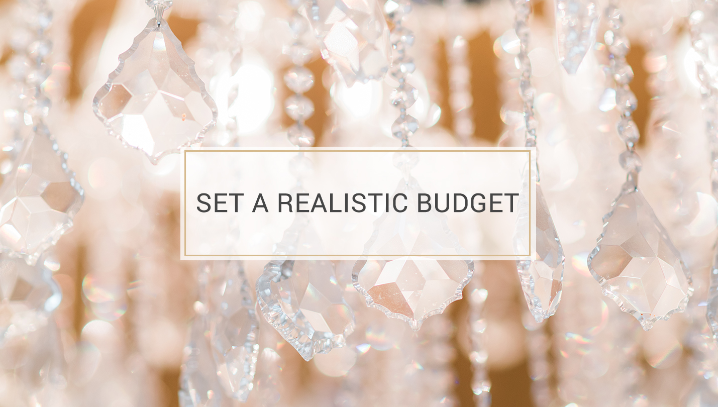 5 Tips to Finding the Perfect Wedding Dress - set a realistic budget