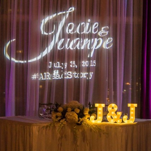 All About Monogram Lighting By Rent My Wedding