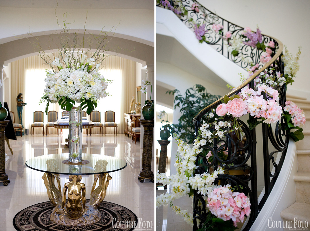 floral wedding decoration in New Jersey