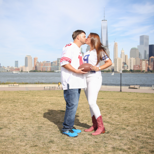 engagement pictures in nyc freedom tower