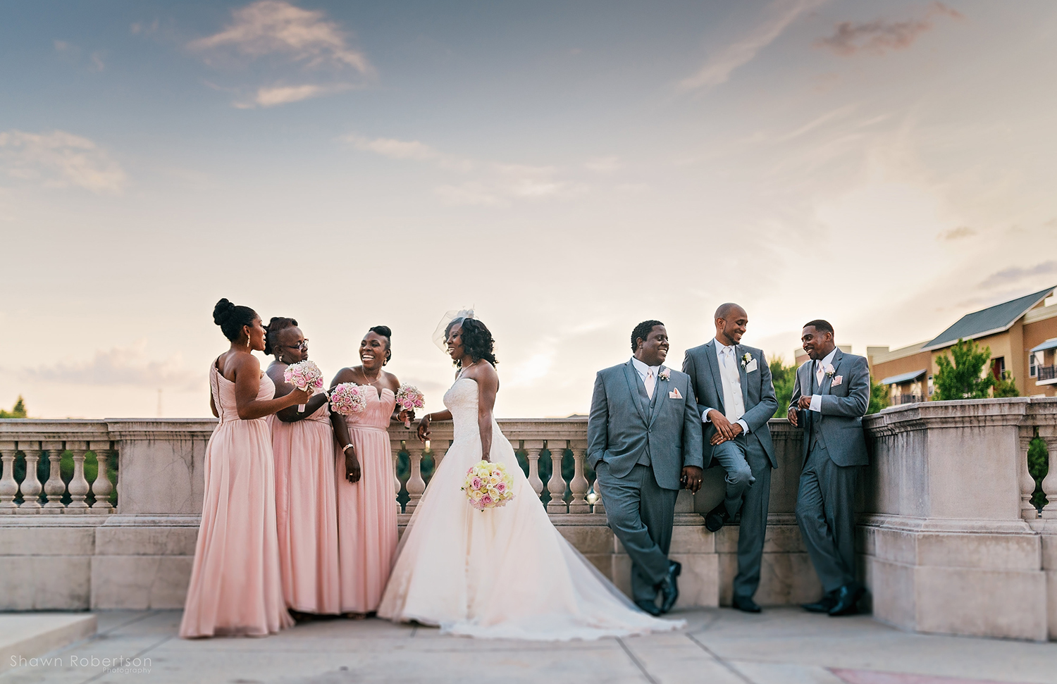 Southern rooftop wedding in georgia by rent my wedding for Wedding dresses for rent in atlanta ga