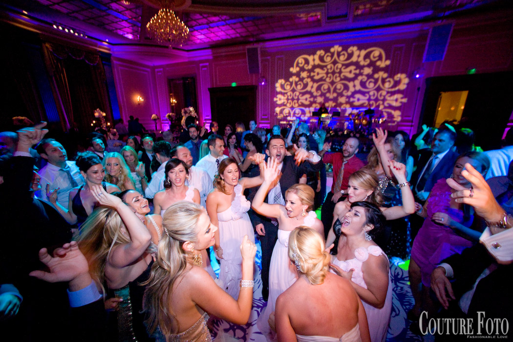bride groom and guests dancing at wedding in new jersey