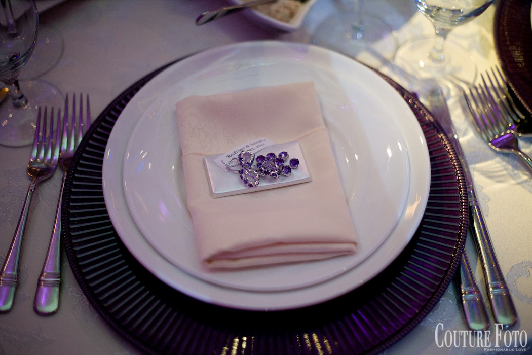table setting at new jersey fantasy wedding