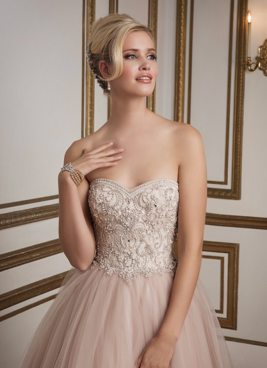 3e858b47f46b Glamorous Wedding Dresses By Justin Alexander - BridalPulse