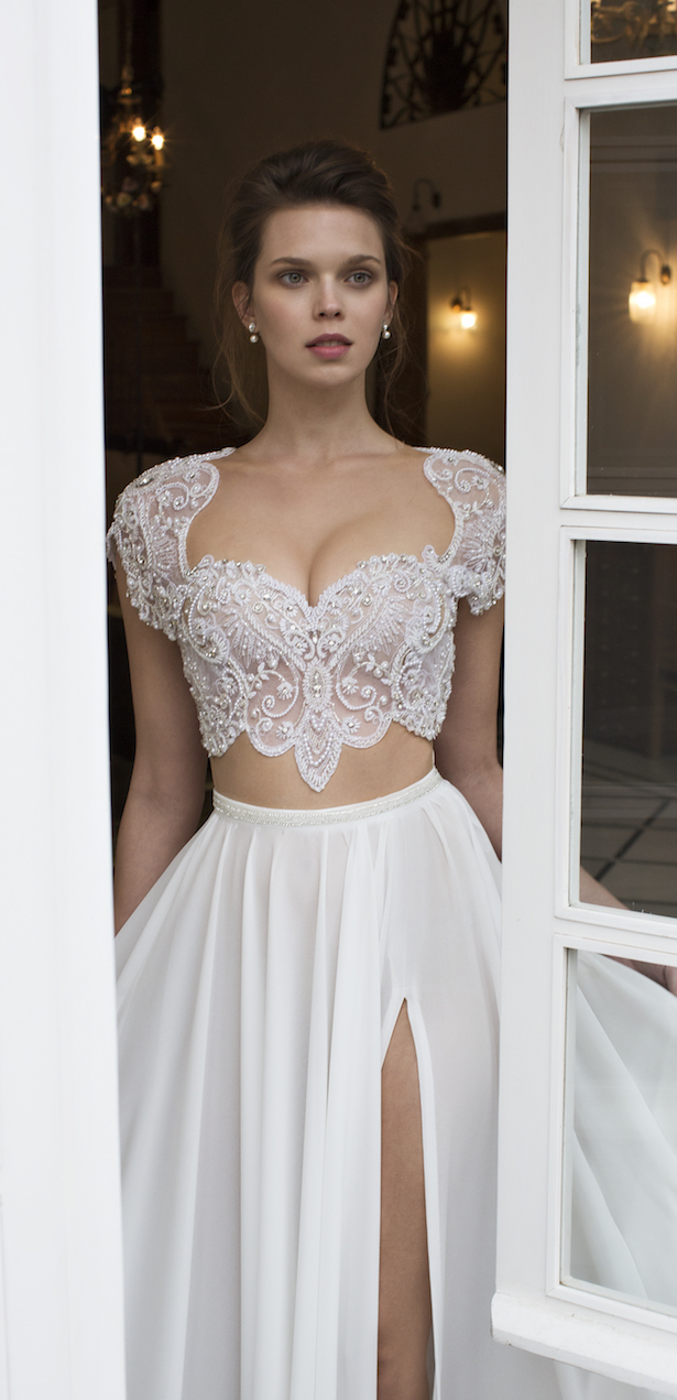Bridal Trends: Two- Piece Wedding Dresses - BridalPulse
