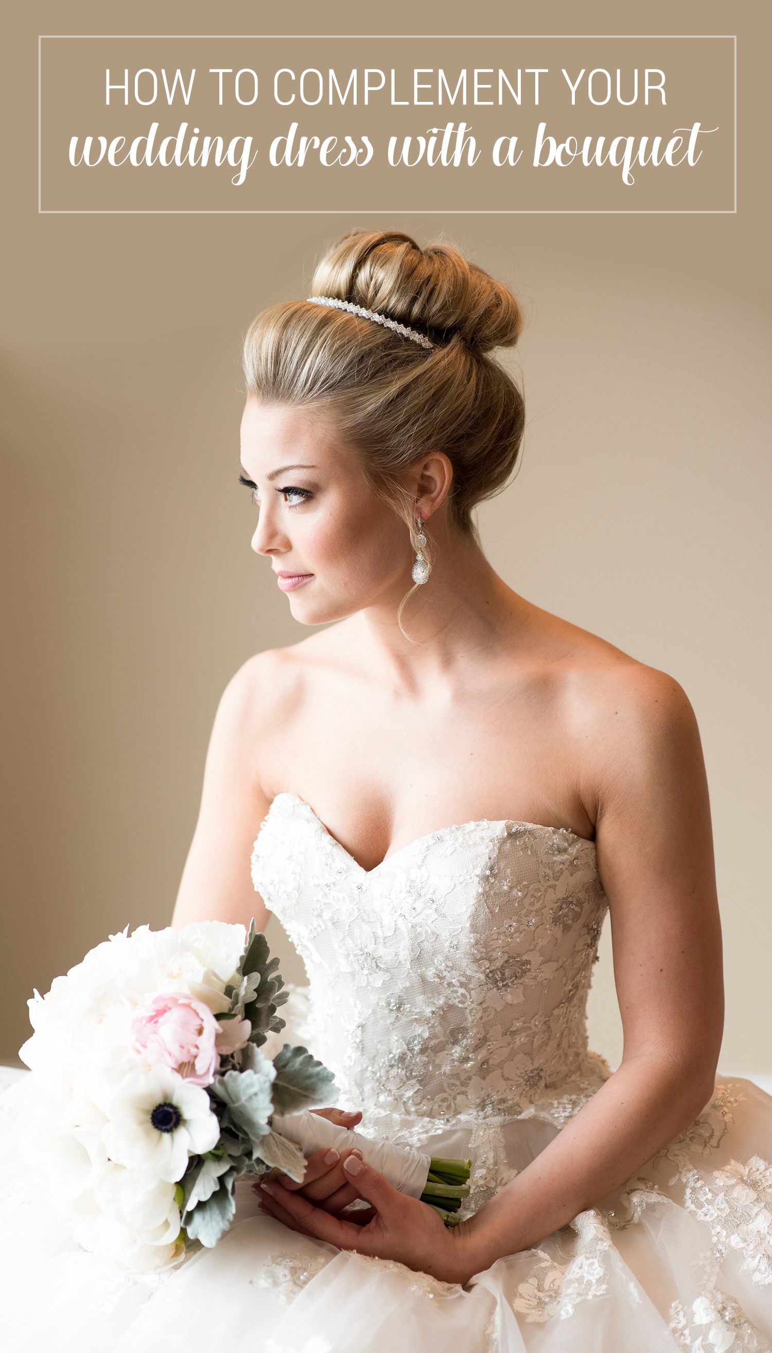 How to Complement Your Wedding Dress with A Bouquet ...