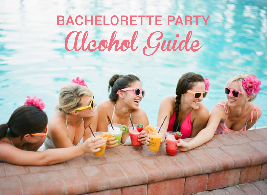 bachelorette party alcohol guide