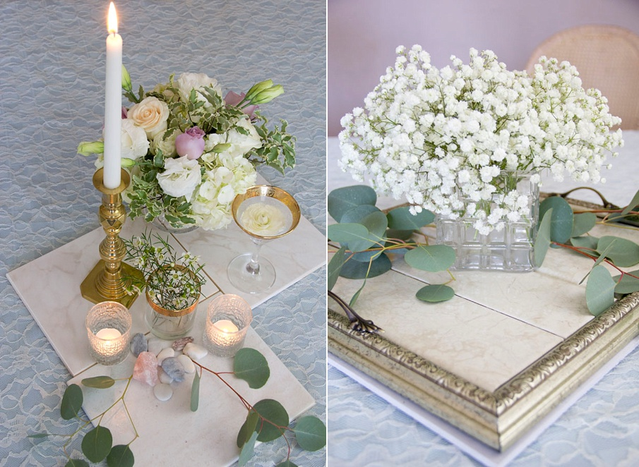 Bride To Be Guest Blogger Our Diy Wedding Centerpieces Bridalpulse