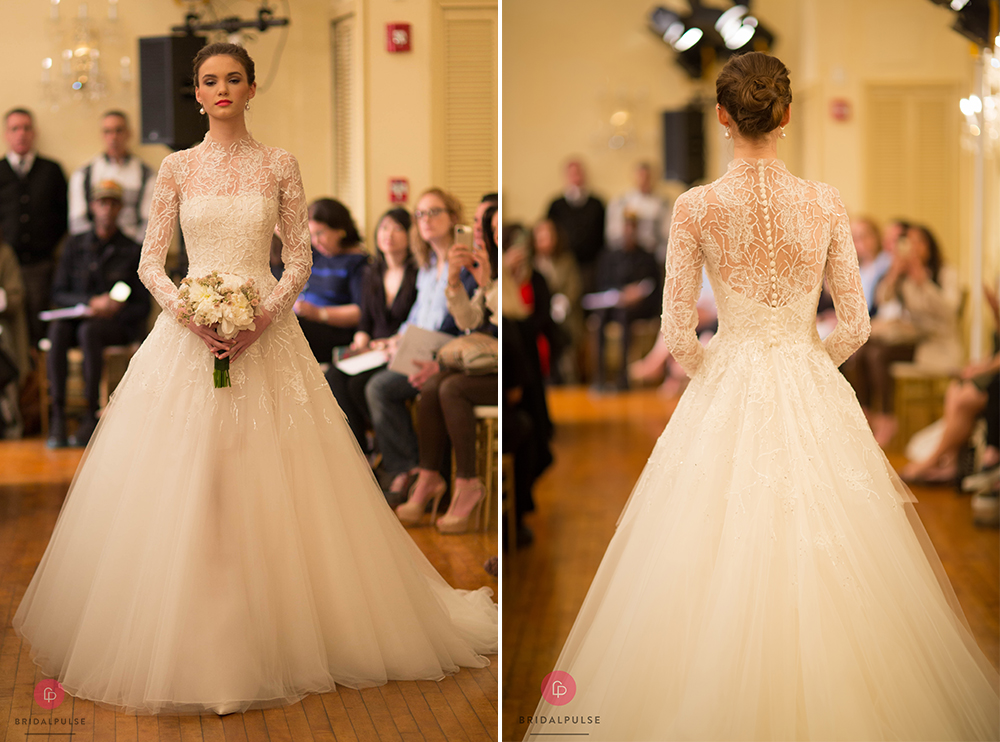 The Top Wedding Dress Trends From New York Bridal Fashion