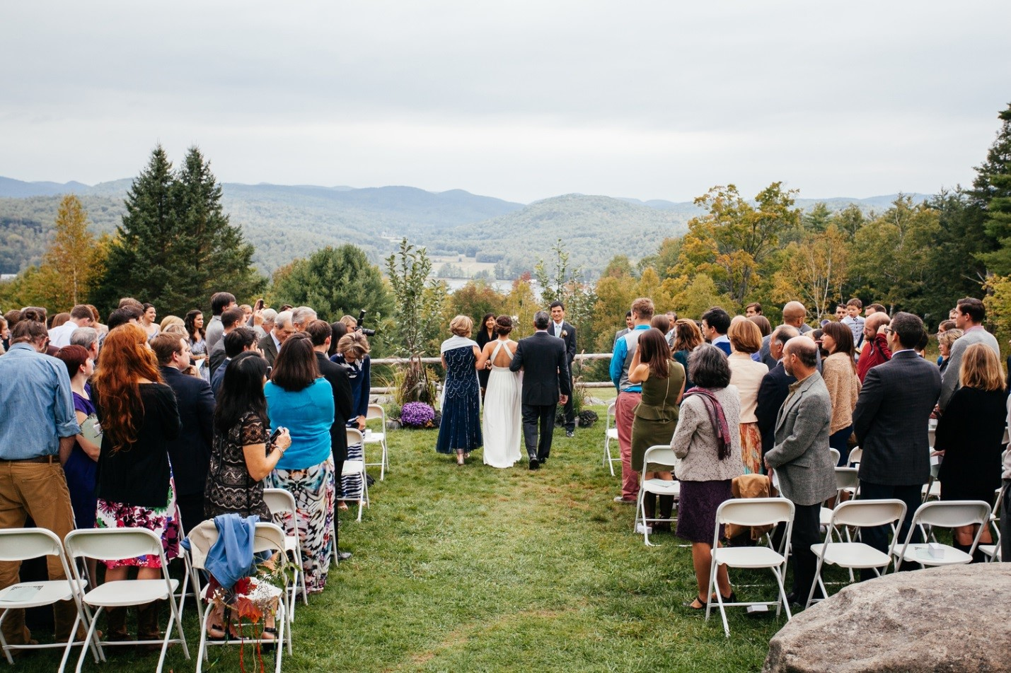 Non-traditional wedding venues - summer camp