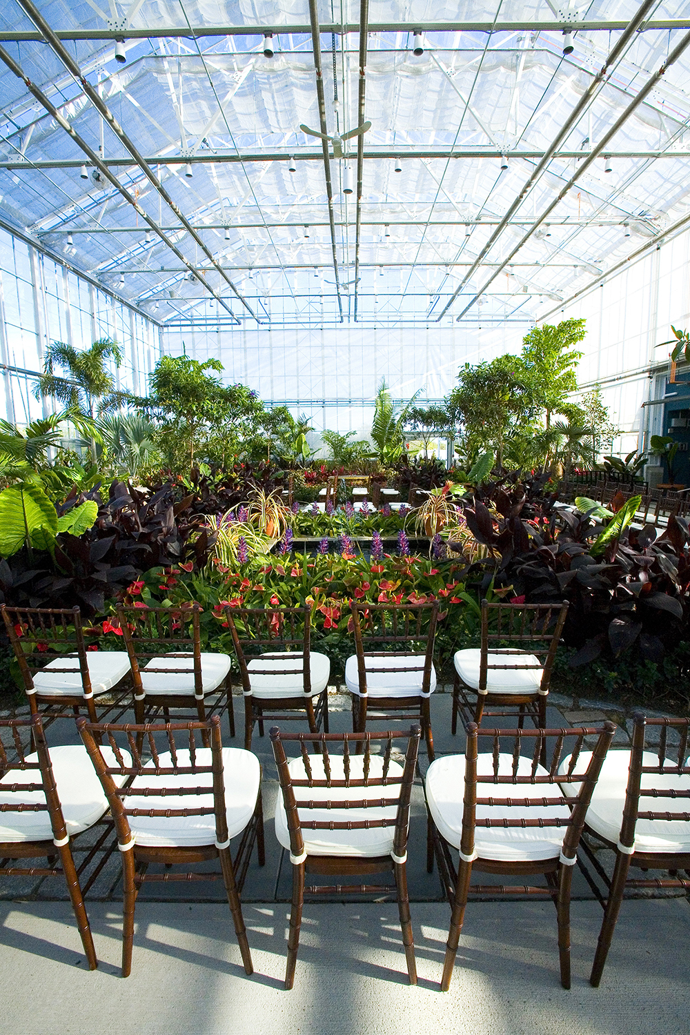 Non-traditional wedding venues - Roger Williams Botantical Center