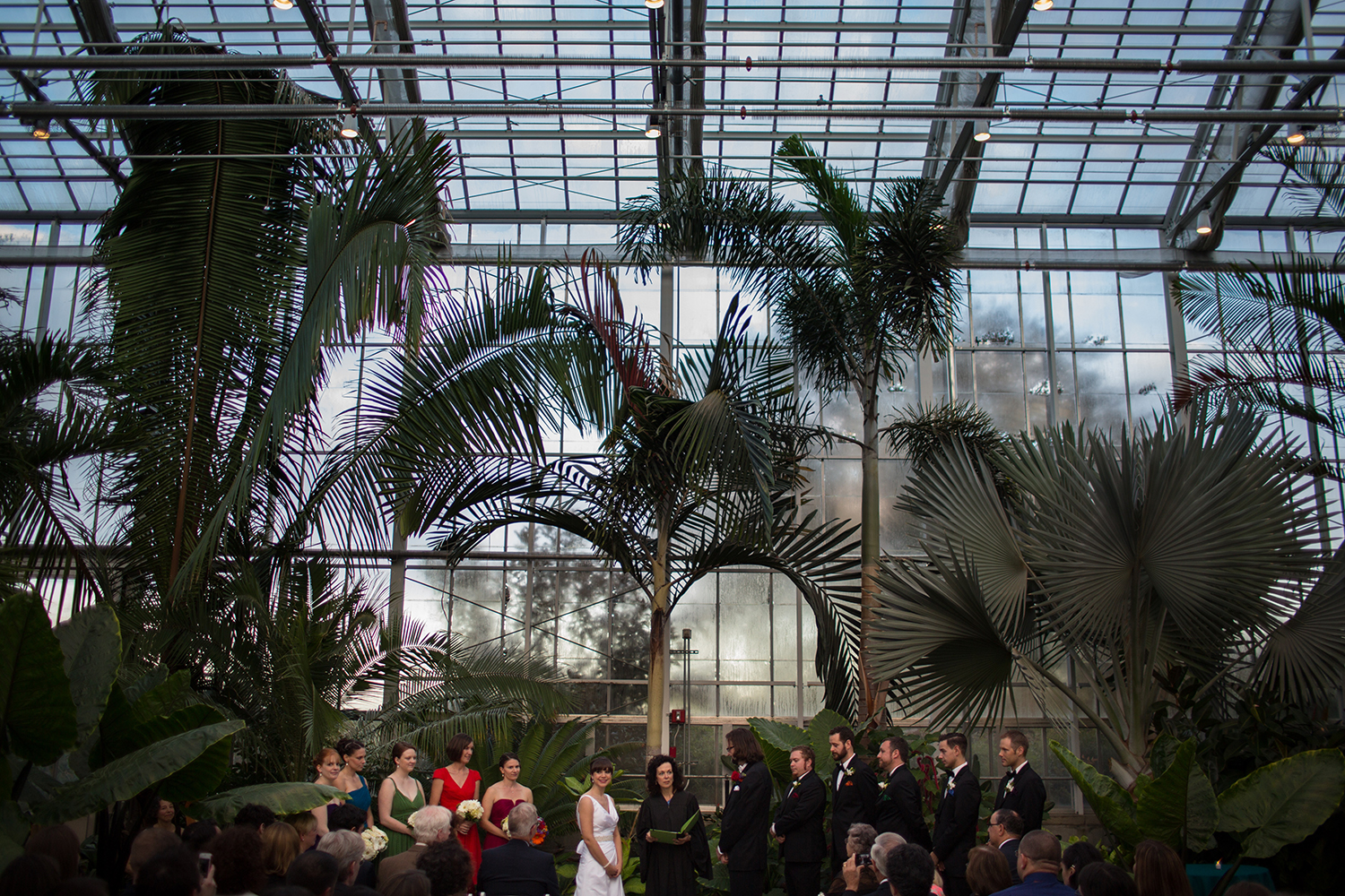 Non-traditional venues - Roger Williams Botantical Center