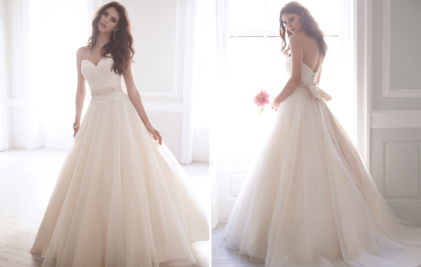 10 Gorgeous Wedding Dresses Under 1000