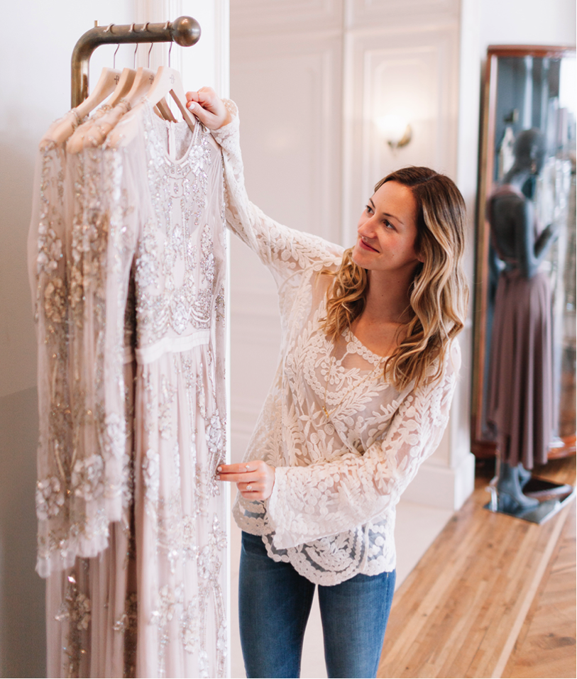 How to help the bride pick her wedding dress