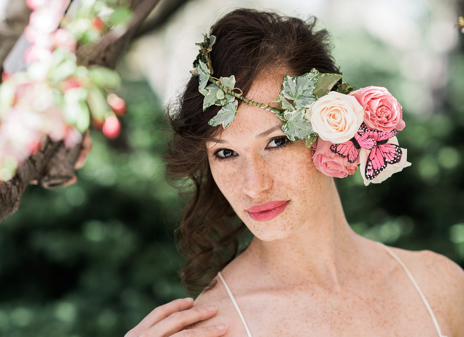 Spring flower crown for the whimsical bride by stellar style events spring flower crown for the whimsical bride by stellar style events izmirmasajfo