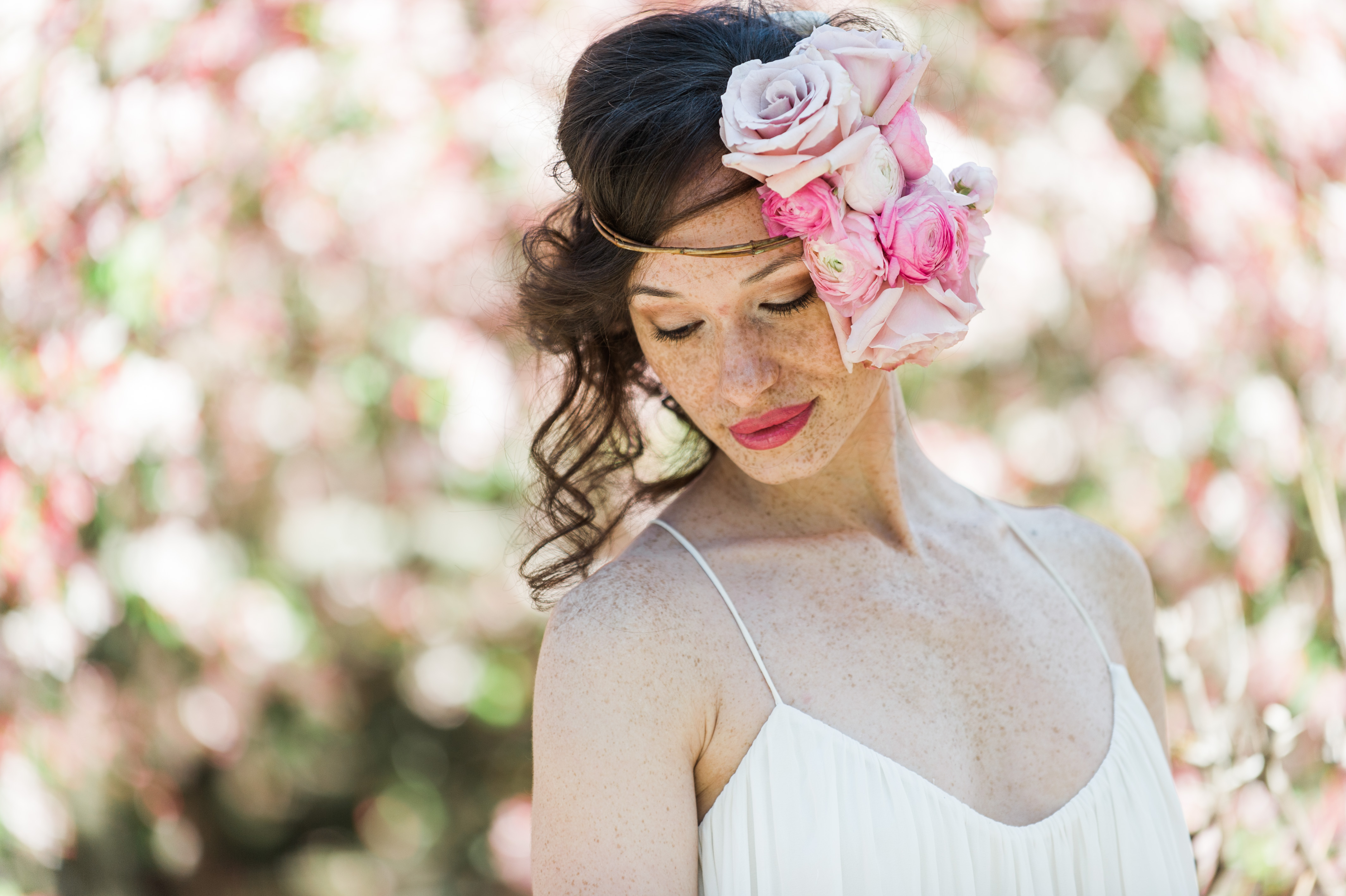 Spring Flower Crowns For The Romantic Bride Bridalpulse
