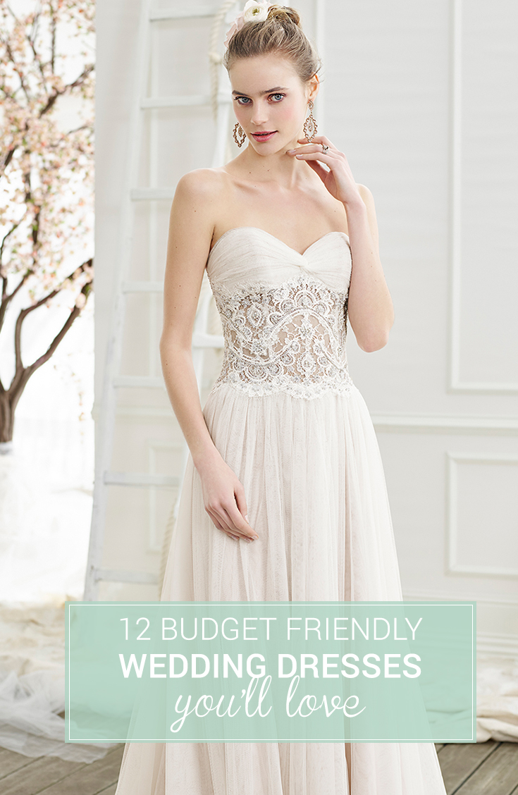 fceaa5c88a136 budget friendly wedding dresses. We visited our friends at Casablanca Bridal  ...