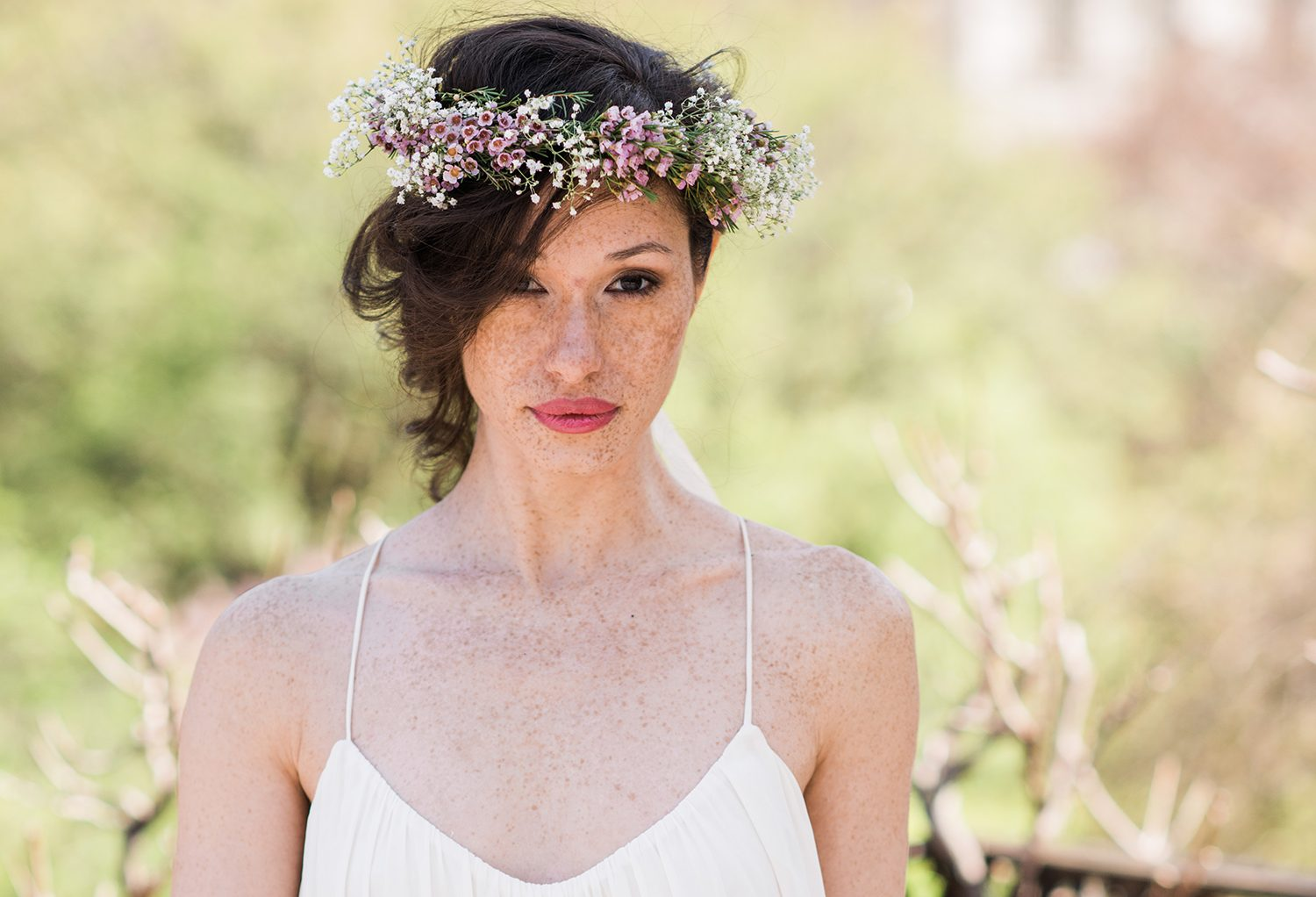 Spring flower crown for the rustic bride by stellar style events spring flower crown for the rustic bride by stellar style events izmirmasajfo