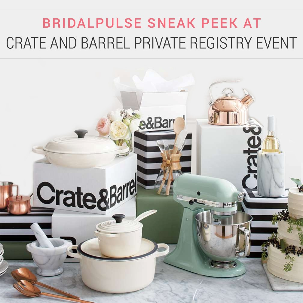The Best Wedding Registry Experience With Crate And Barrel