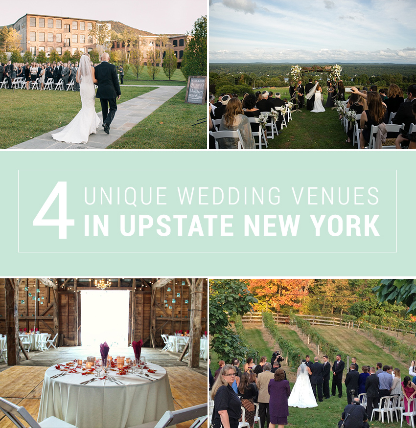 4 unique upstate new york wedding venues bridalpulse for Wedding venues near york