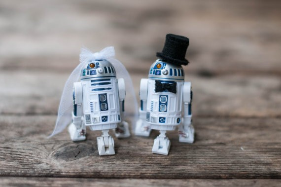 These star wars cake toppers are awesome bridalpulse junglespirit Gallery