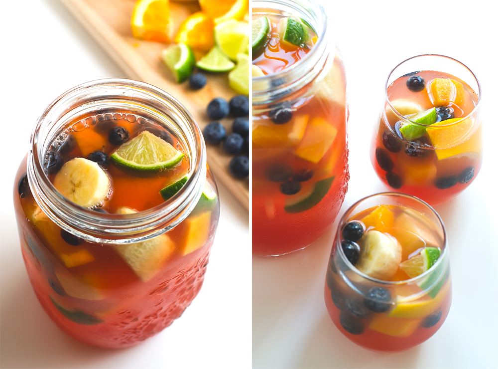 BridalPulse - 10 Wedding Mocktails for Summer Weddings - Simple Vegan Blog - Sparkling Grape Sangria