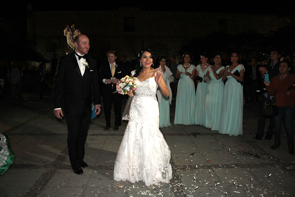 traditional mexican wedding with a festive celebration in mexico