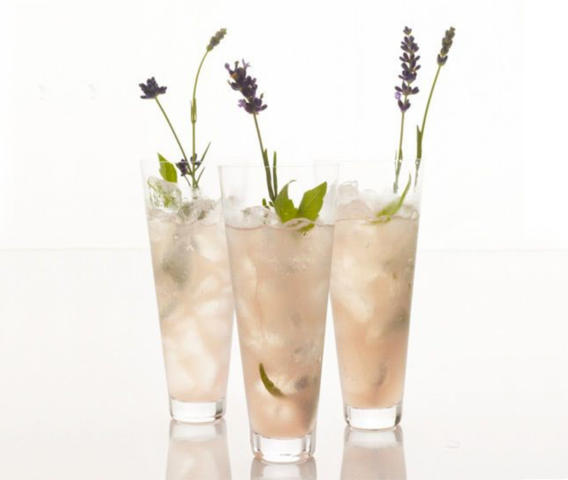 BridalPulse - 10 Wedding Mocktails for Summer Weddings | Image from Food and Wine - Lady Lavender Mocktail