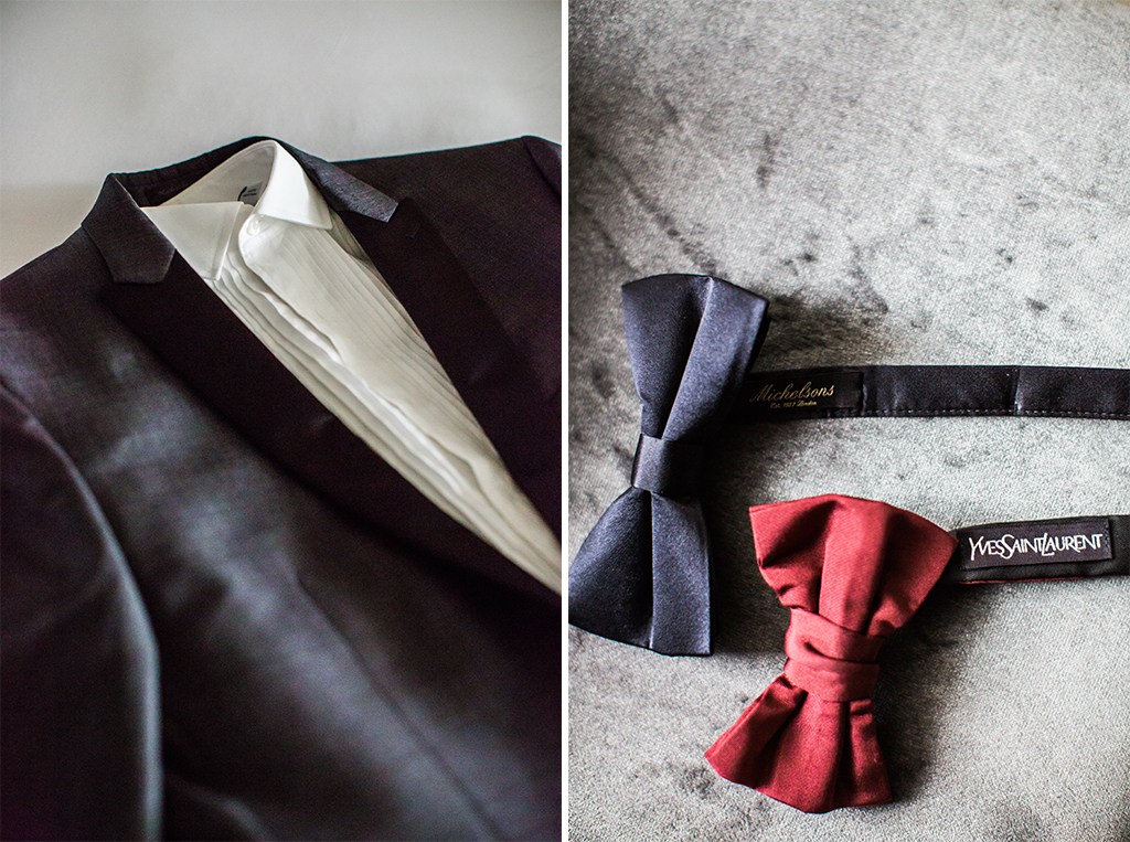groomsmen suit and bow tie for los angeles wedding