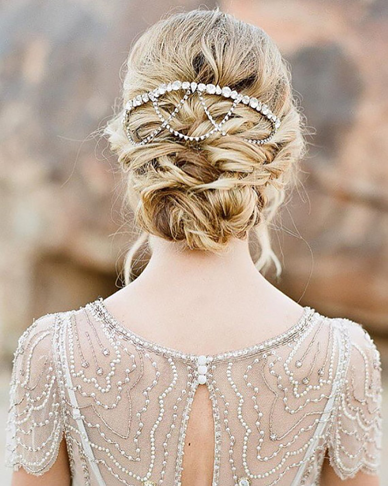 a37069b75c3 ... BridalPulse - 20 Gorgeous Wedding Hairstyles for a Summer Wedding Image  and Hair Accessory ...