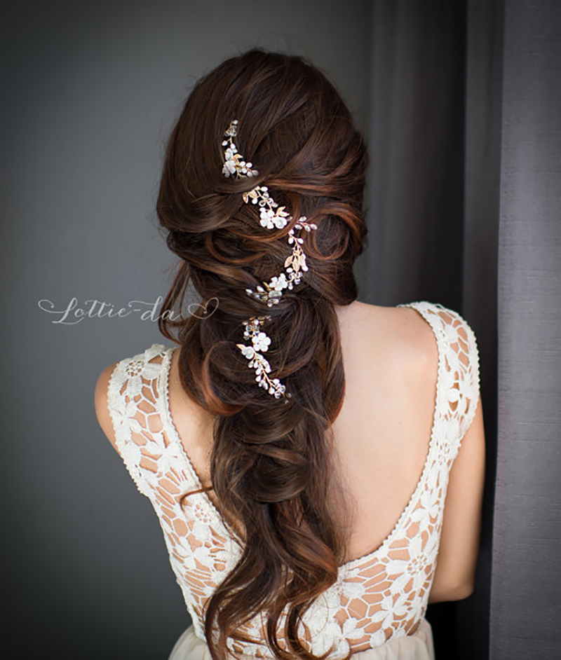 20 Gorgeous Wedding Hairstyles For Long Hair: 20 Gorgeous Wedding Hairstyles For A Summer Wedding